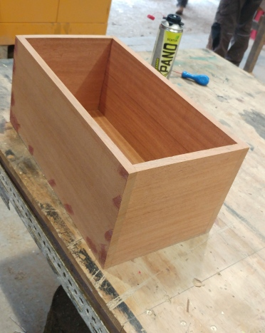 bread bin work in progress 1