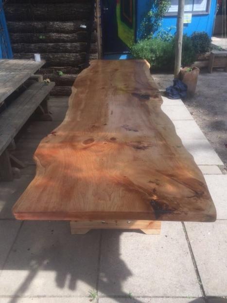 Sandy sanding table top