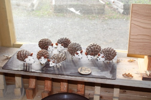 Hedgehogs in shop small