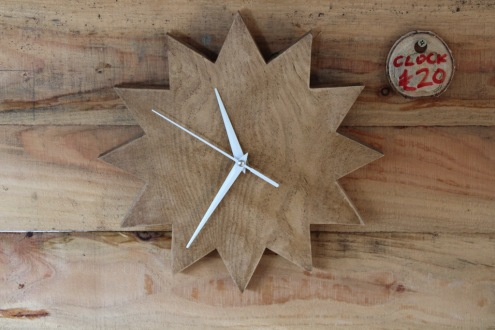star clock small