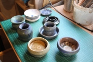various pots 1 small