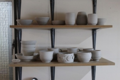 Bowls on shelf 2 small