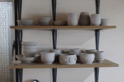 Bowls on shelf 2 small