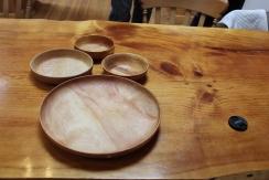 Matt bowls and plate small