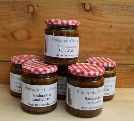 Pineapple chutney small