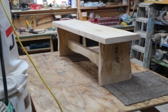 Bench in workshop small