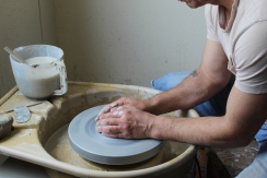 Pottery hands small
